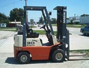 Nissan fork lift Model AH30