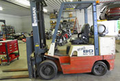Nissan Model JC80 forklift used