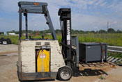 Nissan Model OS30 forklift used