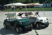 used 2004 Yamaha G16 golf car